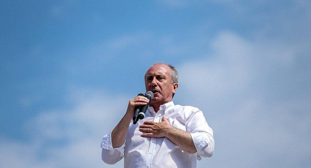 İnce: Erdoğan sen çakma dünya liderisin