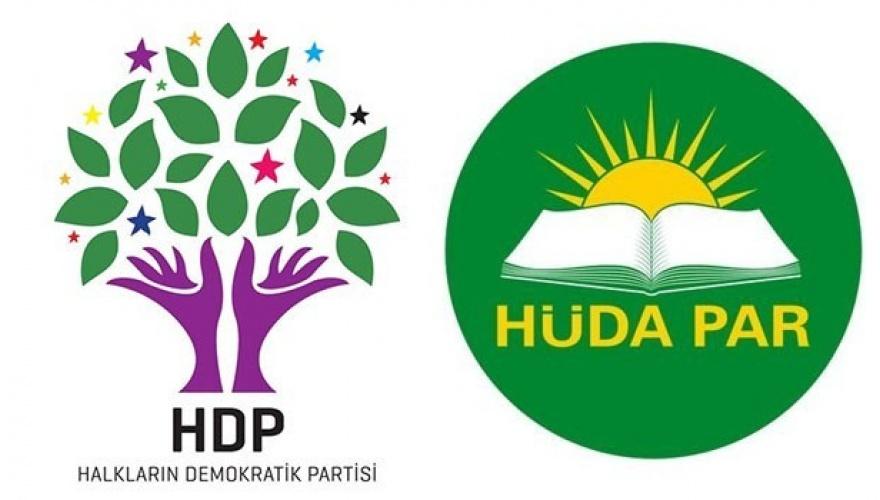 HDP VE HÜDA PAR KURA ÇEKTİ!