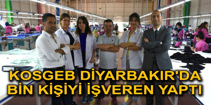 KOSGEB Diyarbakır'da bin kişiyi işveren yaptı