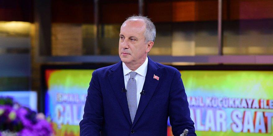 İnce'den Erdoğan'a: Ruh hali iyi değil