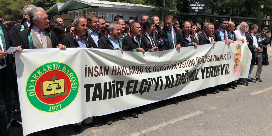 CANLI YAYIN... 25 ilin baro başkanları Diyarbakır'da...