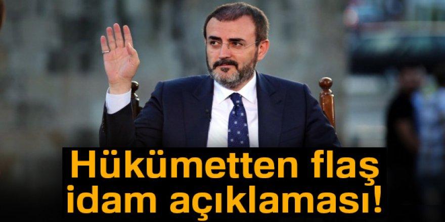 Hükümetten idam açıklaması!