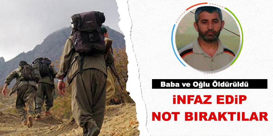Diyarbakır Valiliği: PKK baba ve oğlunu katletti