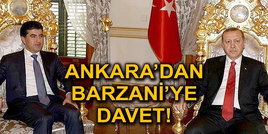 BARZANİ' ANKARA'YA GELİYOR