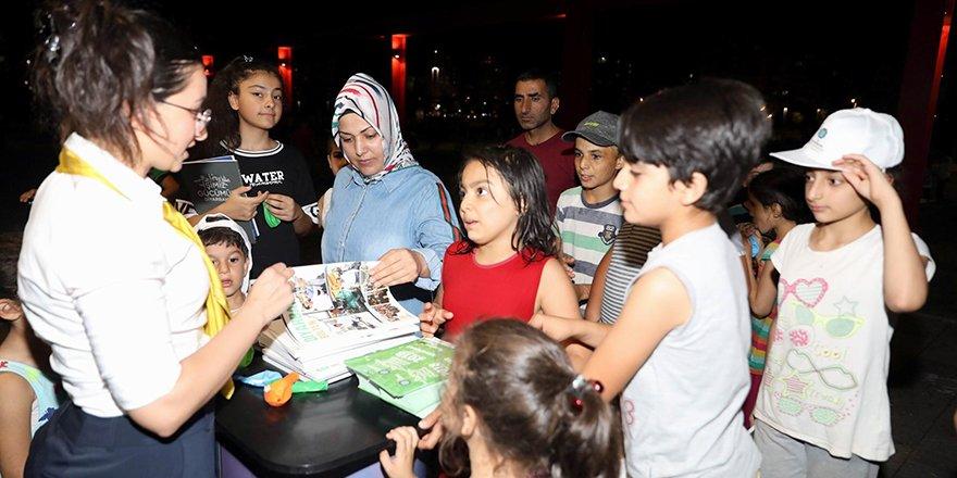 'Diyar Masa' standı kuruldu