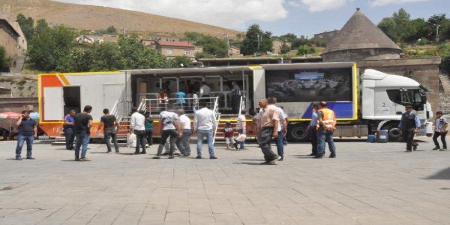 Afad'ın Deprem Simülasyon Tır'ı Bitlis'te