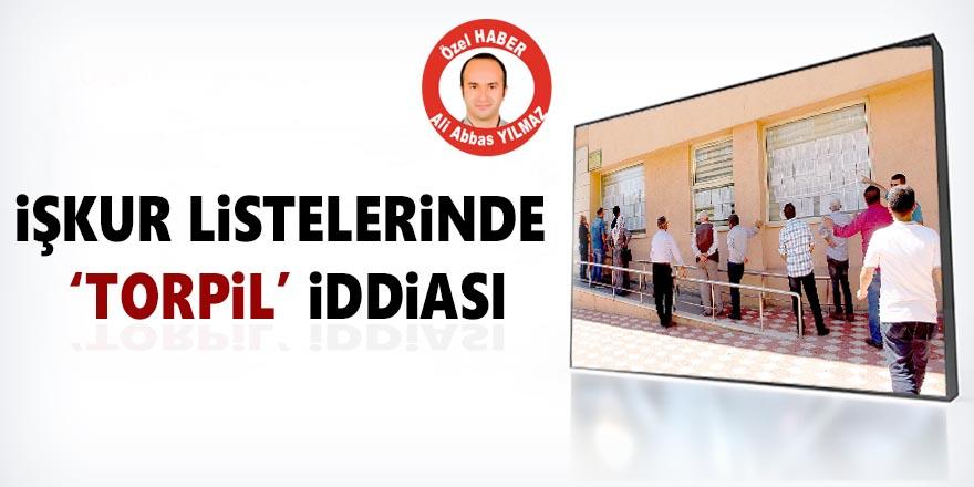 """İŞKUR Listelerinde Yine """"Torpil"""" İddiası"""