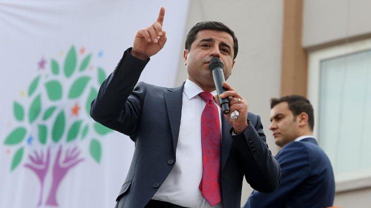 Savcı, Demirtaş'ın tutukluluğun devamını istedi