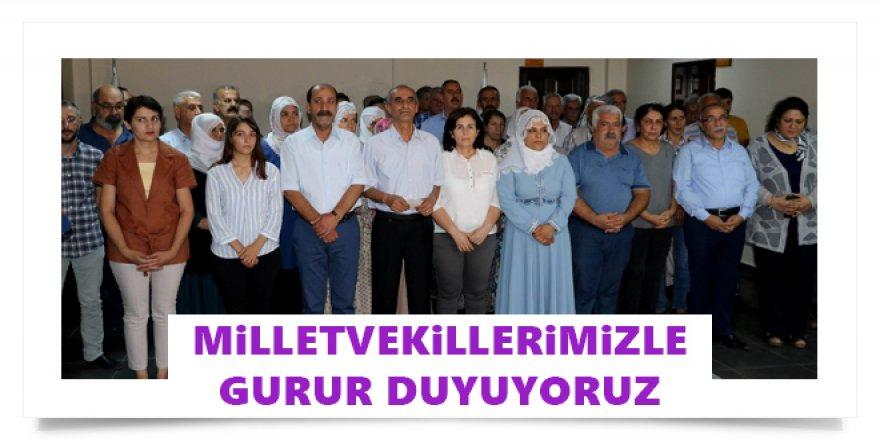 """HDP: """"Milletvekillerimizle Gurur Duyuyoruz"""""""