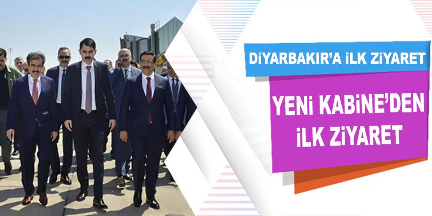 Diyarbakır'a Yeni Kabineden İlk Bakan Geldi