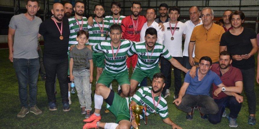 Tatvan'da Futbol Turnuvası