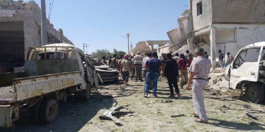 Azez'de patlama: 1 ölü, 20 yaralı