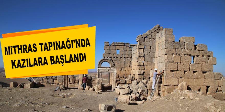 Mithras Tapınağı'nda Kazılara Başlandı