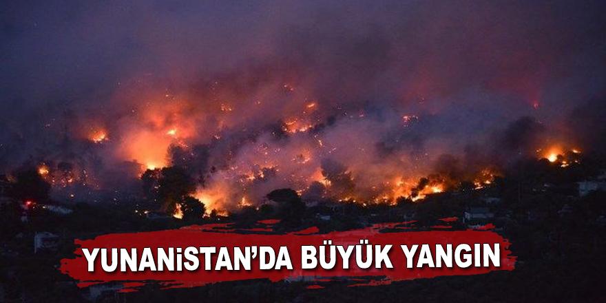 Yunanistan'da yangınlar sürüyor: Ölü sayısı 50'ye yükseldi