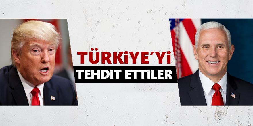 ABD'den Türkiye'ye 'Brunson' tehdidi!