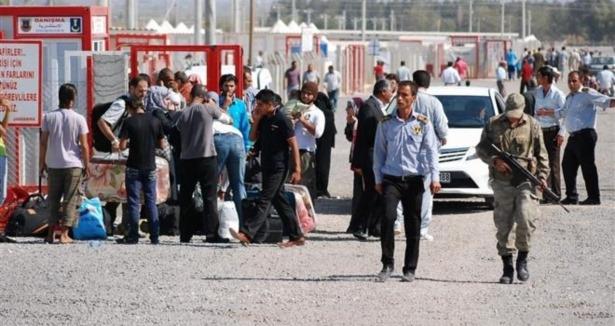 52 Bin 114 Suriyeliden 49 Bini Türkiye'ye Döndü
