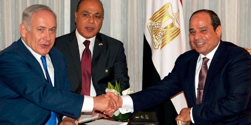 'Netanyahu ve Sisi, Kahire'de gizlice görüştü' iddiası