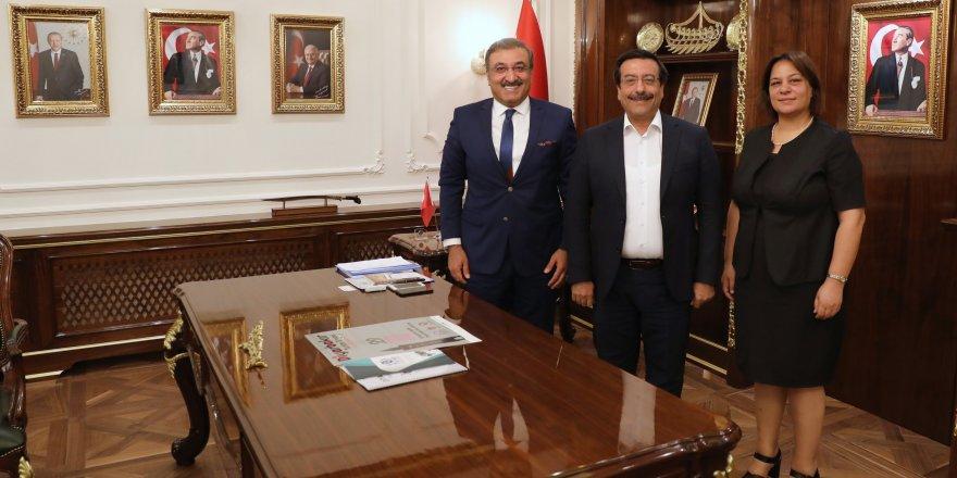 Türk Arap Ülkeleri İş İnsanları Derneği'nden Atilla'ya Ziyaret