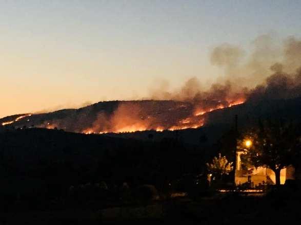 Kulp ve Silvan kırsalında orman yangını
