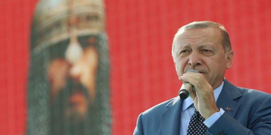Erdoğan: Anadolu, insanlığın geleceğinin kilit taşıdır