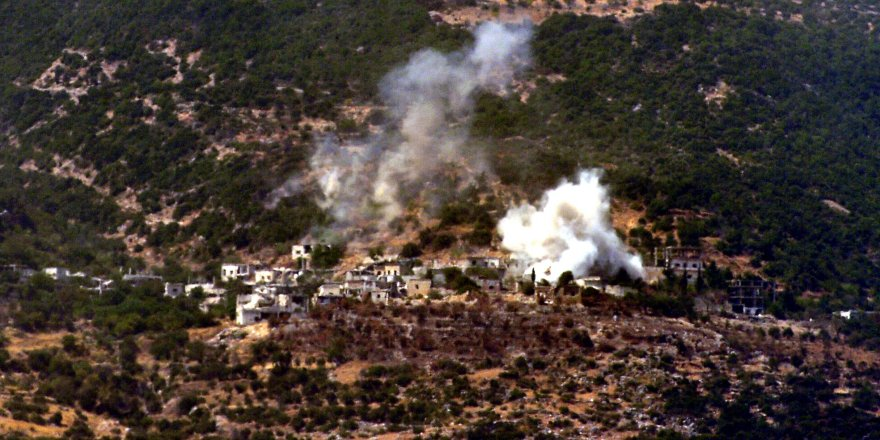 İdlib havadan ve karadan ateş altında
