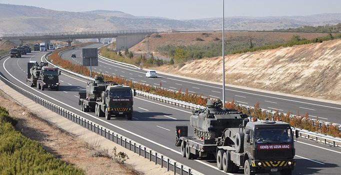 3'lü zirveden sonra sınıra askeri sevkiyat arttı