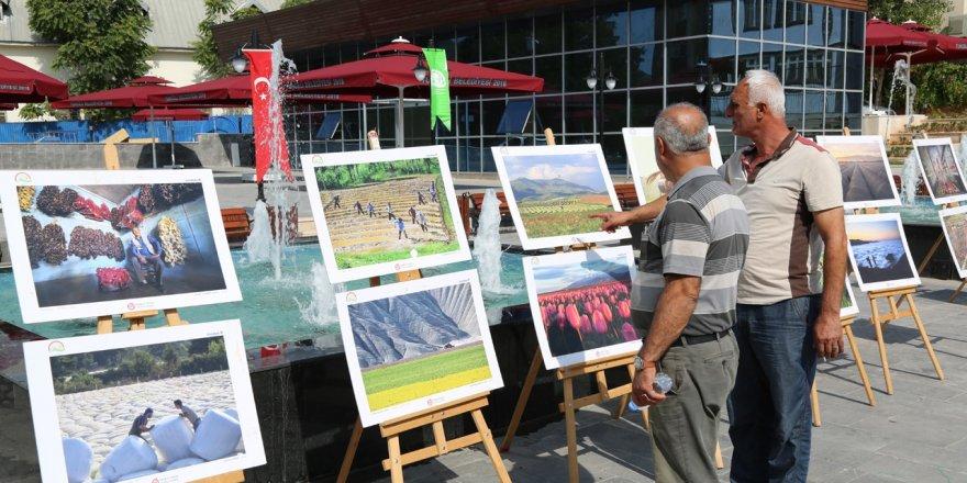 """Tunceli'de """"Tarım ve İnsan"""" fotoğraf sergisi açıldı"""
