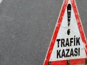Diyarbakır-Ergani yolunda kaza: 1 ölü, 2 yaralı