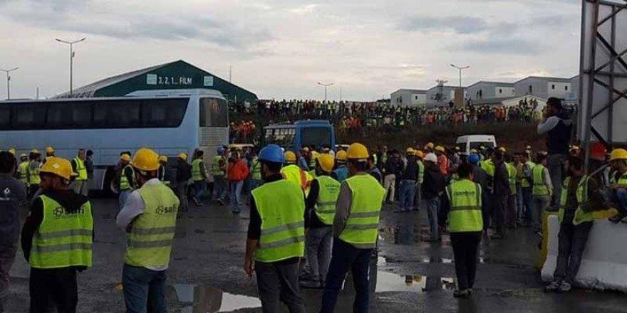 İş kazaları 3. Havalimanı işçilerini isyan ettirdi