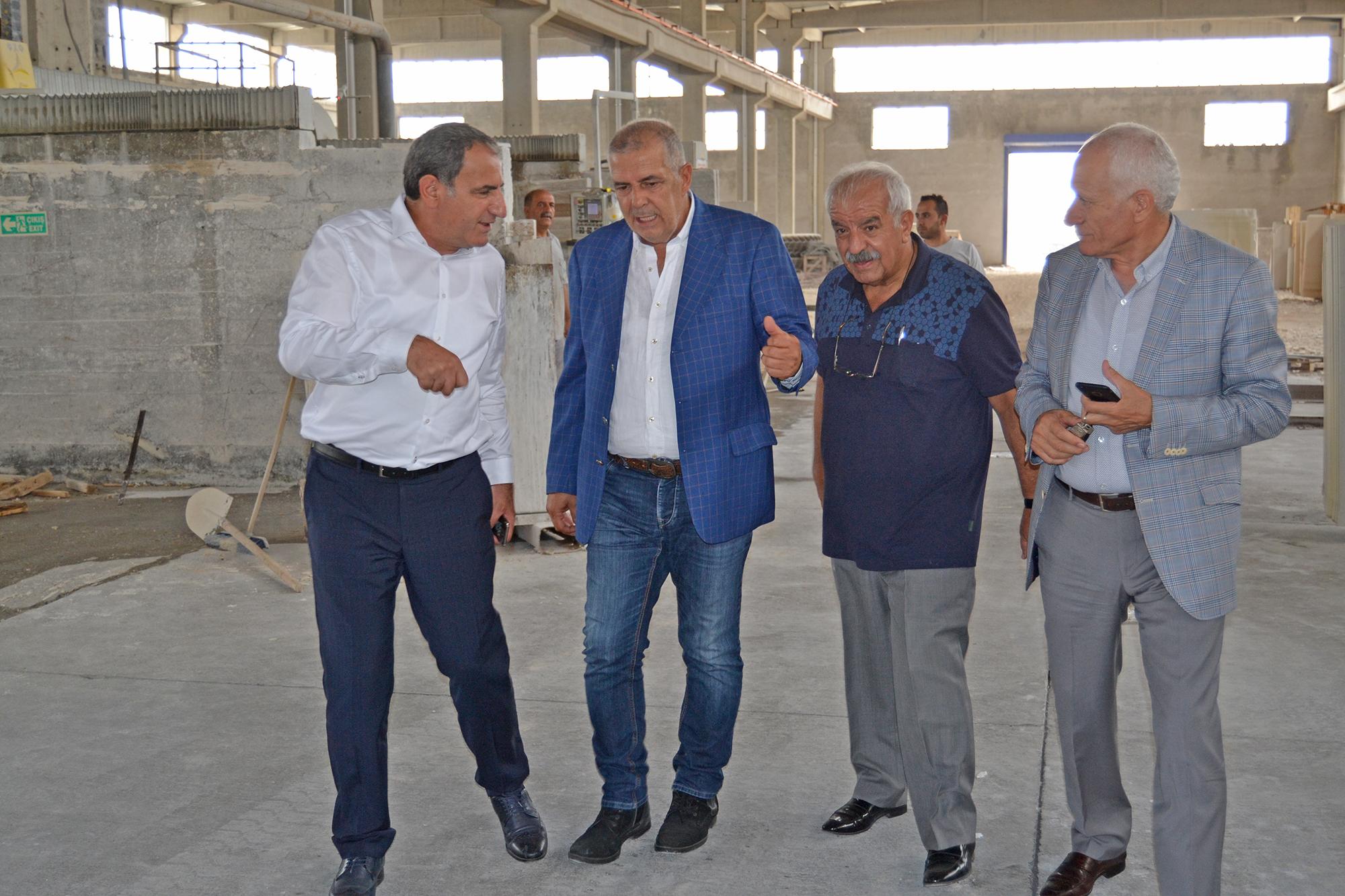 Buca OSB Başkanı'ndan Diyarbakır OSB'ye ziyaret