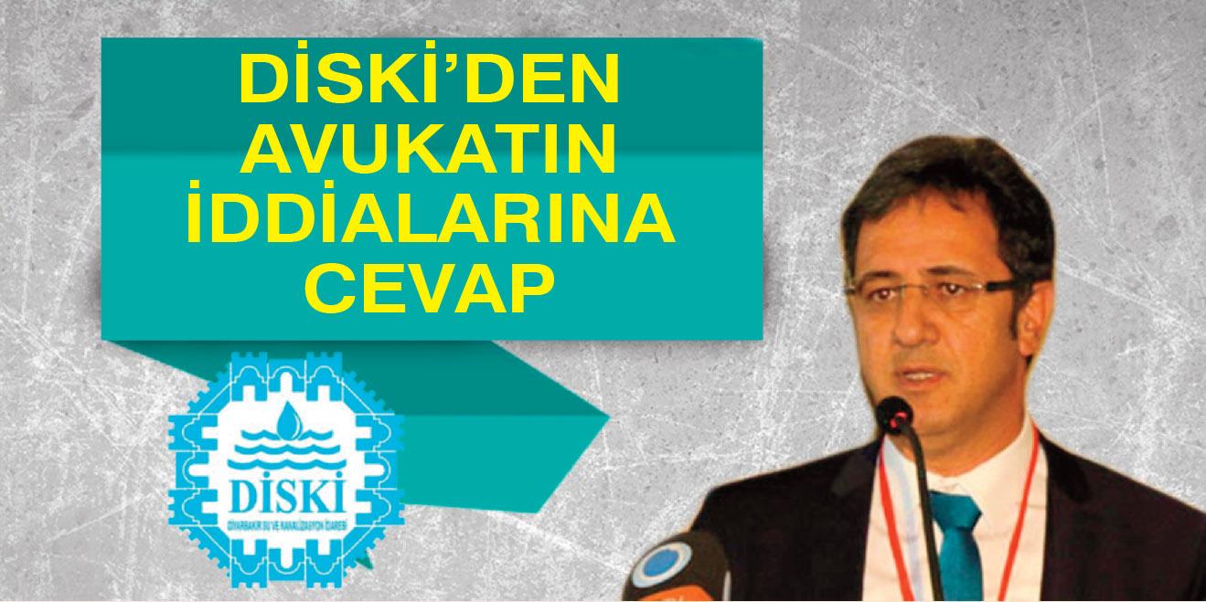 DİSKİ'den avukatın iddialarına cevap