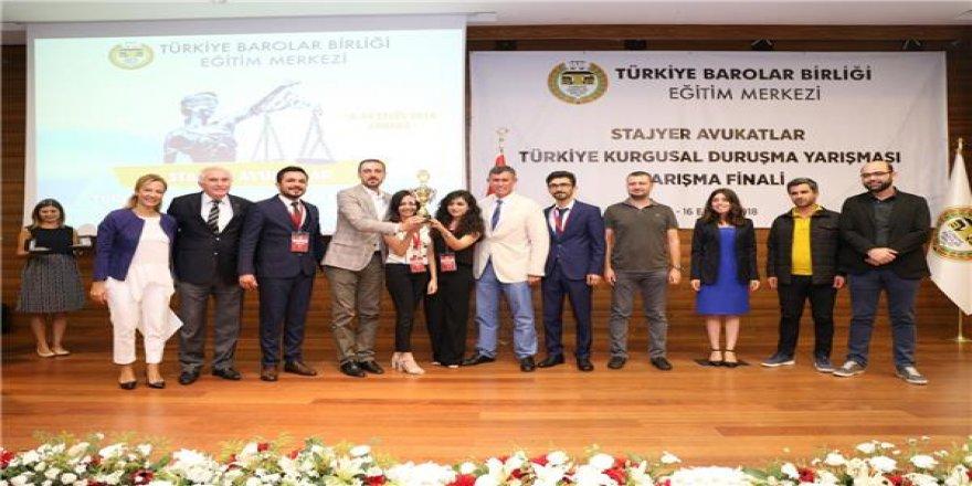 Diyarbakır Barosu, kurgusal duruşmada Türkiye üçüncüsü