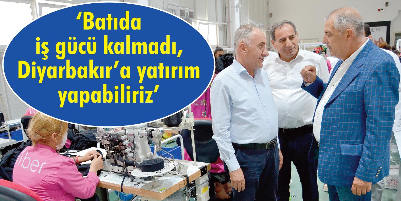 Diyarbakır tekstil kenti olabilir!