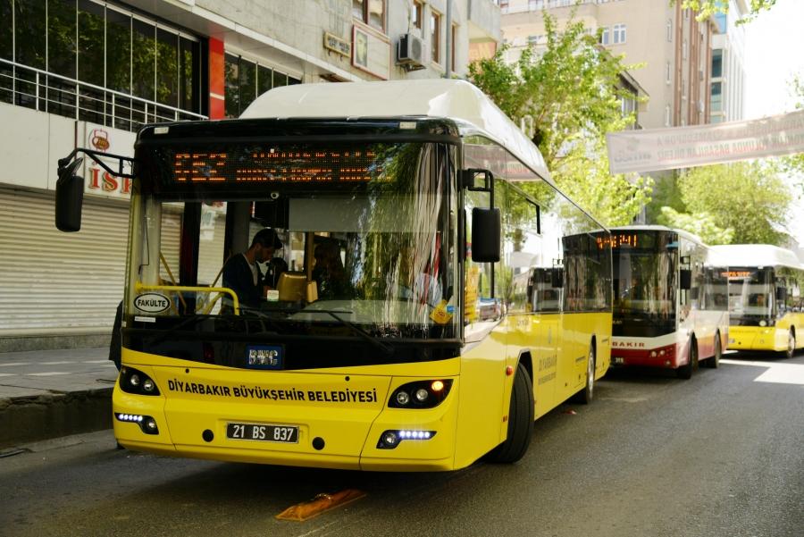Araştırma hastanesi yolunda otobüs çilesi!
