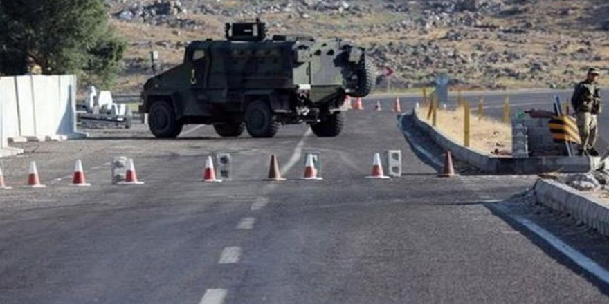 Hakkari il genelinde 30 bölge giriş çıkışlara yasaklandı