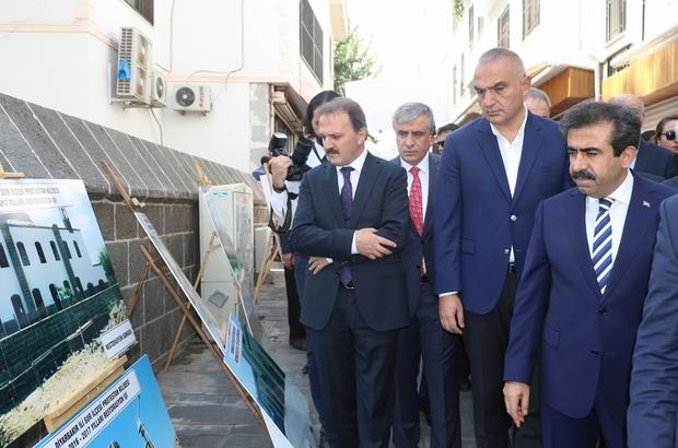 Diyarbakır 4 Ayaklı Minare'de Bakan'dan turizm açılımı