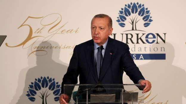 Erdoğan, Suriye mesajını gittiği ABD'de verdi