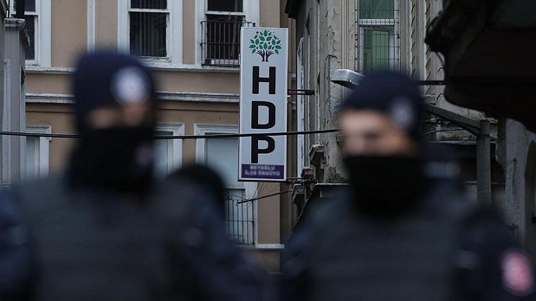 HDP'ye operasyon!