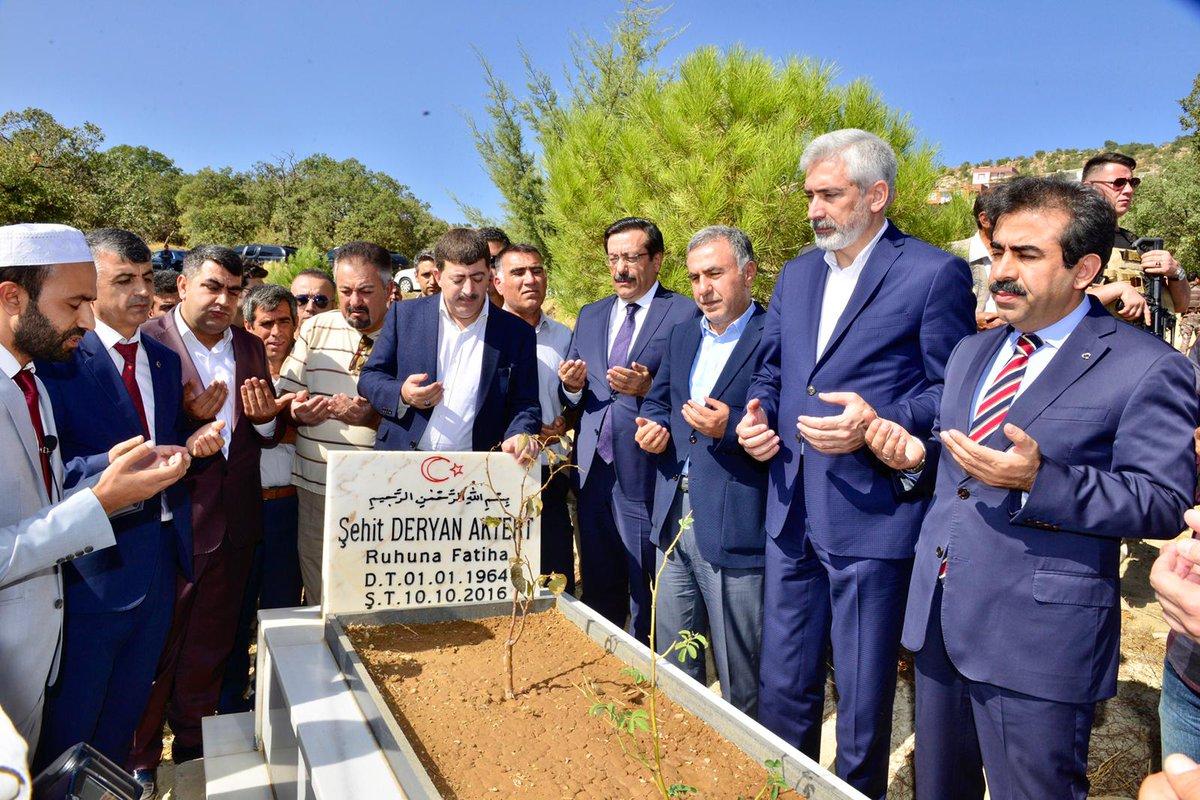 Öldürülen AK Partili Aktert için anma