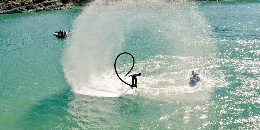 Tunceli, bu kez de Su Jeti ve Flyboard Şampiyonasına hazırlanıyor