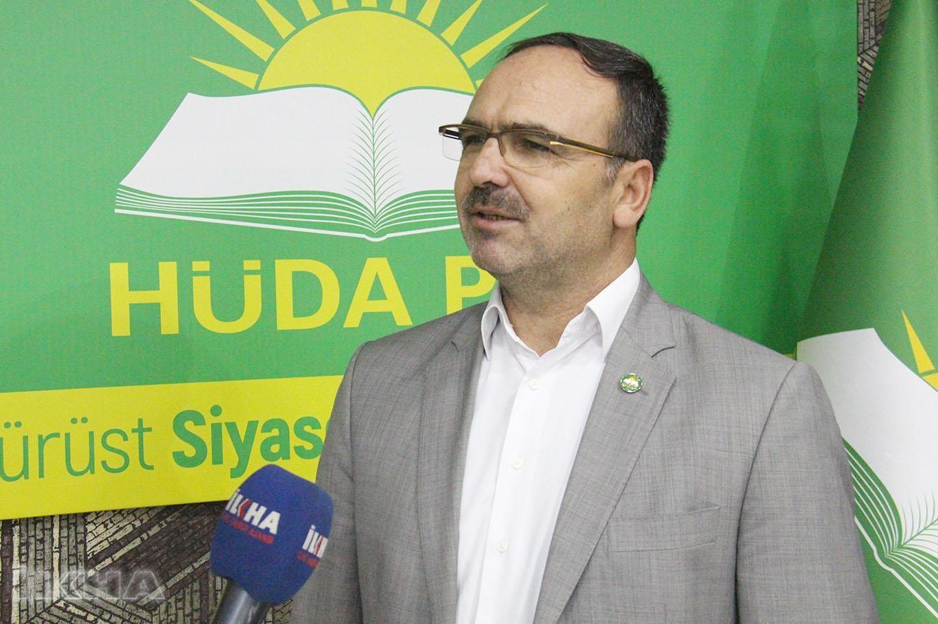 HÜDA PAR Diyarbakır İl başkanı istifa etti