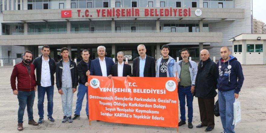 Yenişehir Belediyesinden engelsiz gezi