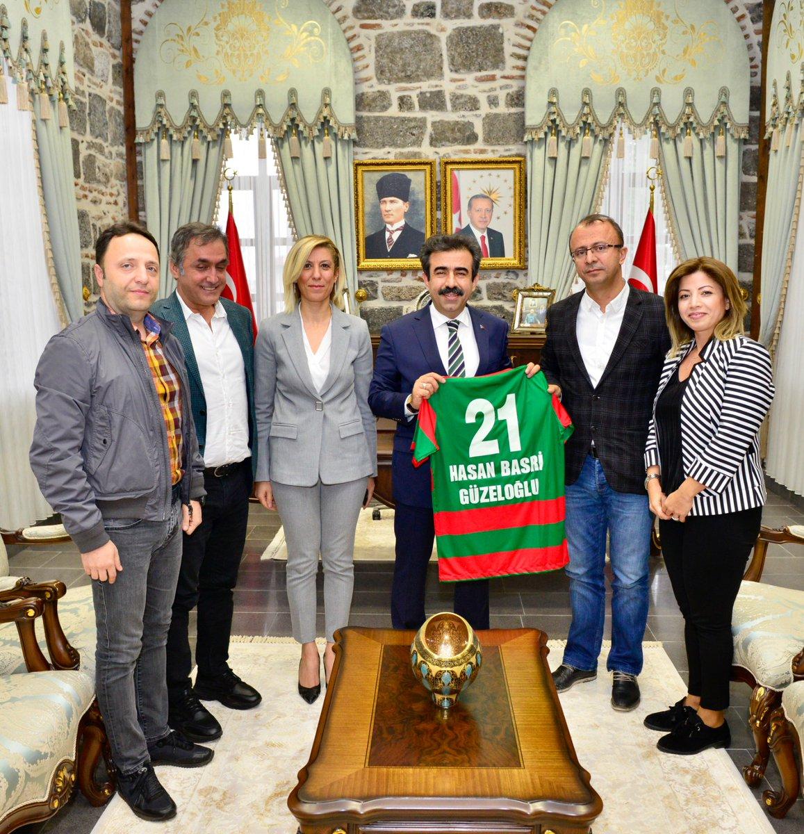 Amedspor yönetimi Diyarbakır Valisi'ni ziyaret edip destek istedi