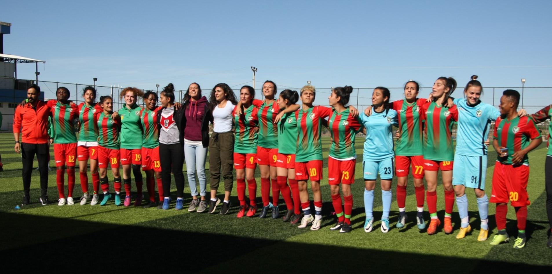 Amedspor'daki değişim kadınlara da yansıdı!