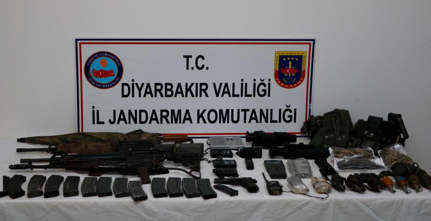 Diyarbakır'da eylem hazırlığındaki 3 PKK mensubu yakalandı