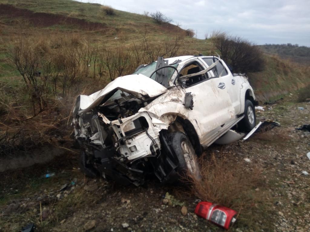 Rûdaw'ın aracı kaza yaptı: 3 yaralı
