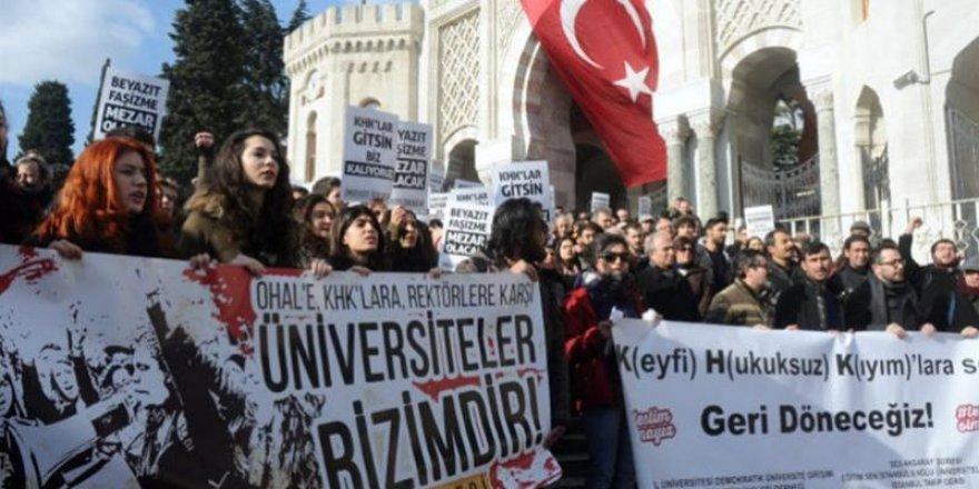 HDP'den yüksek öğrenim raporu: 7 bin kişi ihraç 70 bin tutuklu