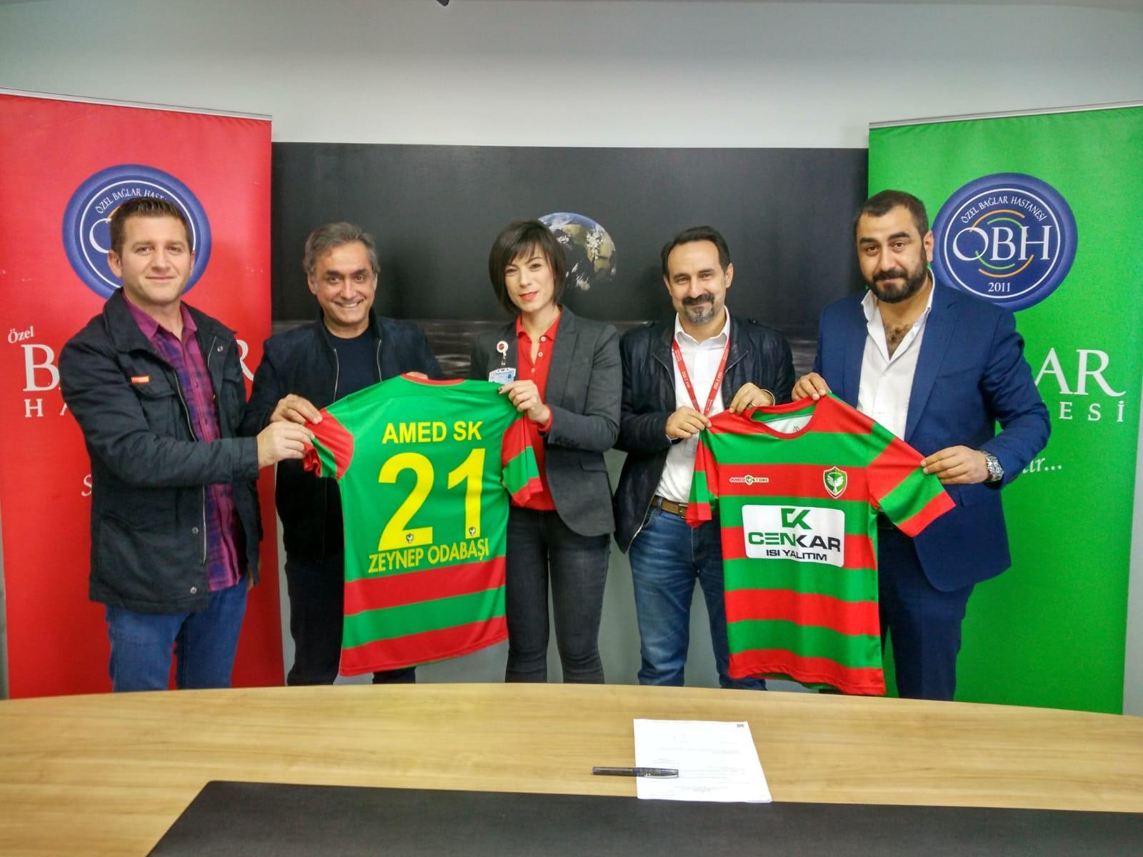 Amedspor'dan sponsorluk anlaşması