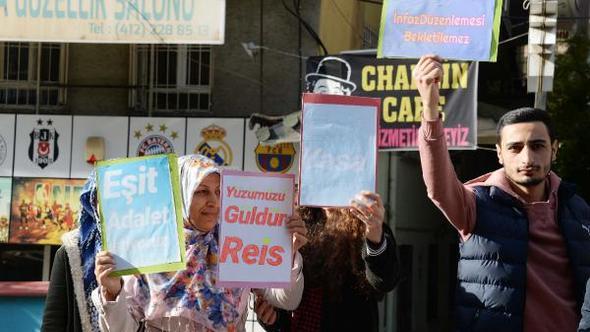 VİDEO- Diyarbakır'da 'af' eylemi