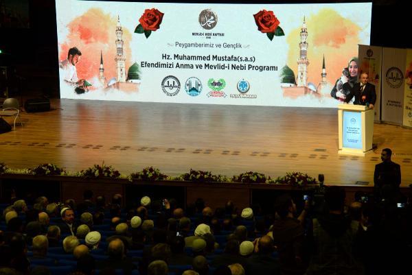 VİDEO- Diyarbakır'da 'Peygamber ve gençlik' etkinliği
